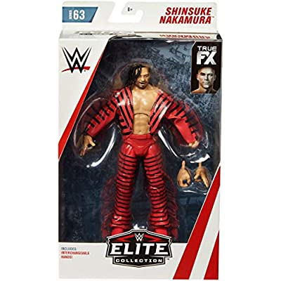 WWE Shinsuke Nakamura Elite Collection Action Figure: Toys & Games