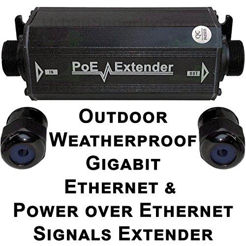 USG Outdoor Weather-poof Gigabit Ethernet & Power Over Ethernet Signals Extender Booster : PoE+ 25W, No External Power Supply, RJ45 Jacks, Extend PoE & Network Ethernet Signal 300ft : Business Grade by Urban Security Group (Image #5)