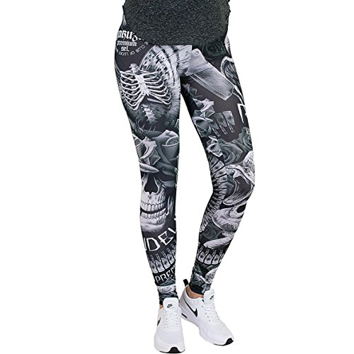 Black Premium Leggings Yakuza Premium Donna Yakuza Leggings qUtYRwU