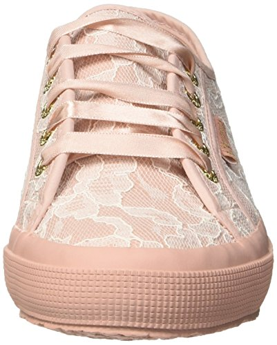 Superga 917 Lace 2750 Zapatillas synlealacew Multicolor pink Rose Para white Mujer rrRSw