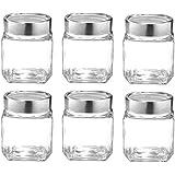 Treo By Milton Cube Jar 310Ml, Set Of 6 Glassware
