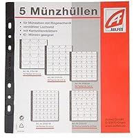 Aulfes 2154-06 - Sacchetti per monete, 5 pezzi, plastica