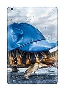 New LwdqCIn431DkUyG Rain Turtle Skin Case Cover Shatterproof Case For Ipad Mini/mini 2
