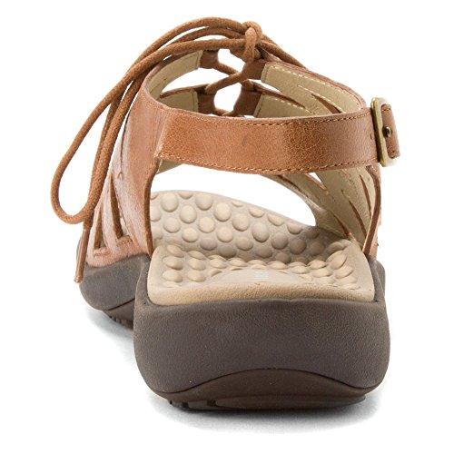 David Tate Womens Dallas Sandal Luggage