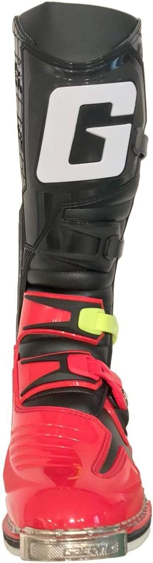Gaerne Motocross-Stiefel React Goodyear Rot//Neon