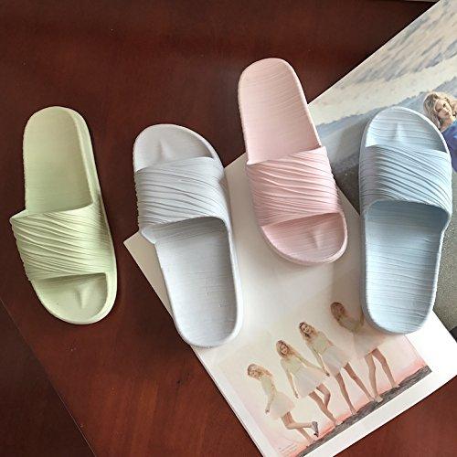 TELLW Pantofole da Bagno estive da Donna e da Uomo accoppiano Pantofole fresche e Pantofole da Bagno