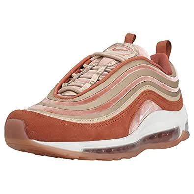 Nike Air Max 97 Ultra 17 LX Womens Running Trainers AH6805 Sneakers Shoes (UK 7.5 US 10 EU 42, Dusty Peach Summit White 200)