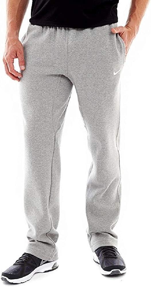Amazon.com: Nike Club Swoosh Men's Fleece Sweatpants Pants ...