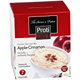 ProtiDiet High Protein Oatmeal - Apple Cinnamon (7 Servings/Box)