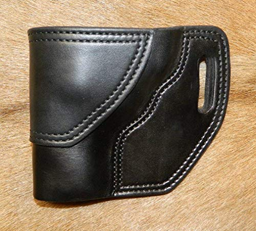 Gary C's Leather OWB Avenger LH Leather Holster for the S&W L Frame 3