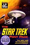 "The Star Trek Font Pack (3.5"" Disks)"