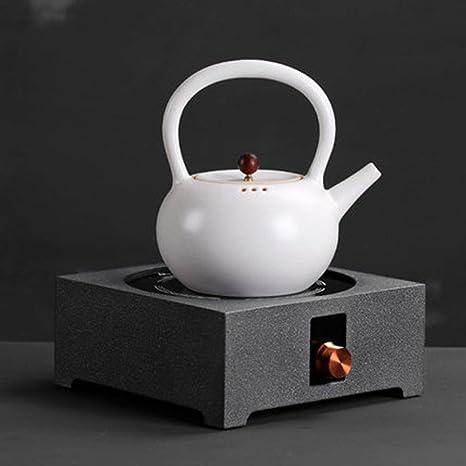 AA-SS Tetera eléctrica de cerámica, Estufa de té, Tetera ...