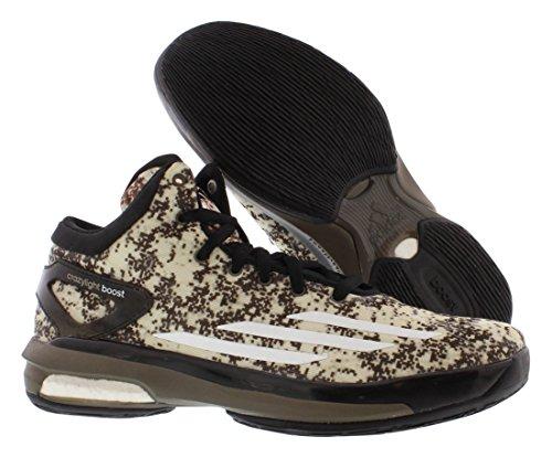Basket Black Da Scarpe Luce Adidas white 8 Sm Pazzo Boost Size xz4Y4wq1H