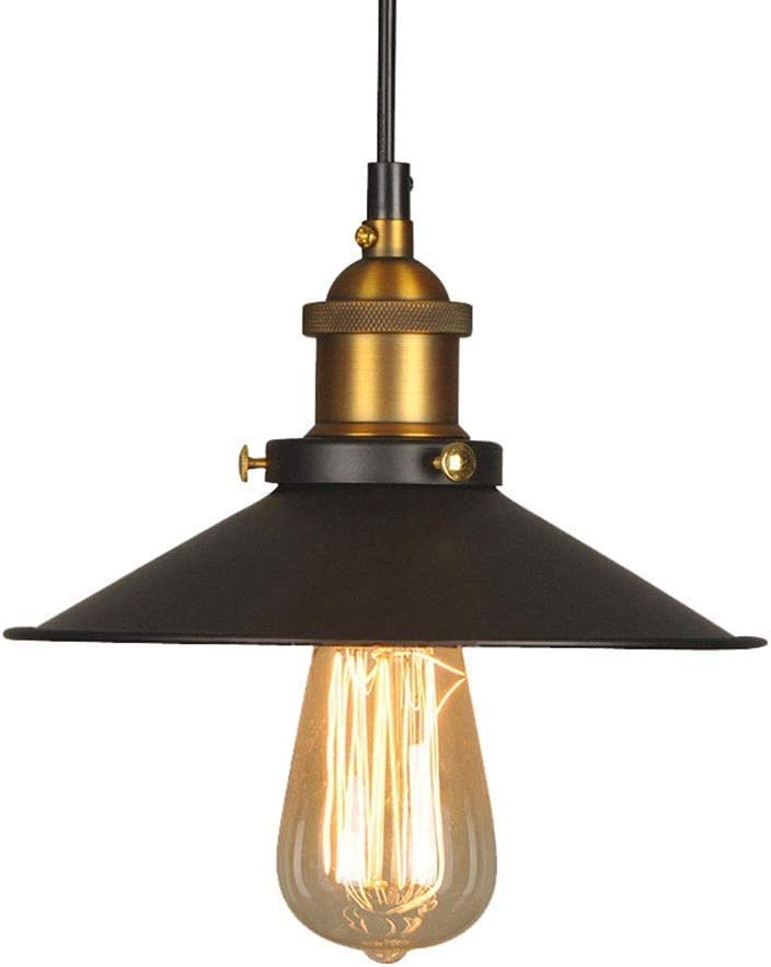 LJWJ Lámpara Candelabros Luces de Techo, Candelabro de Caldero de Hierro Antiguo, Lámpara Individual Led para Dormitorio Creativo