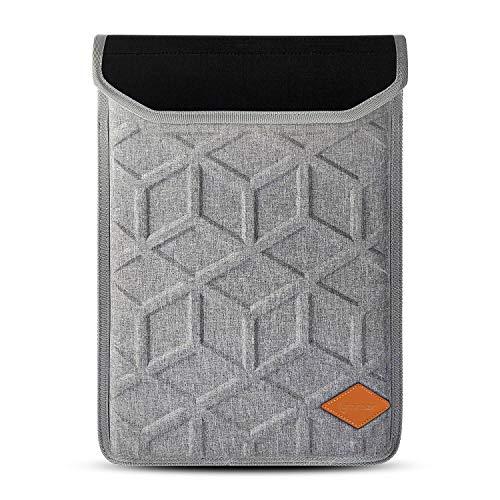 Laptop Inner Neoprene (Lymmax Laptop Sleeve for 14 Inch HP/Dell/Lenovo/Asus/Acer/Computer Notebook Laptop Case Shockproof Carrying Bag Hardshell (Light Grey))