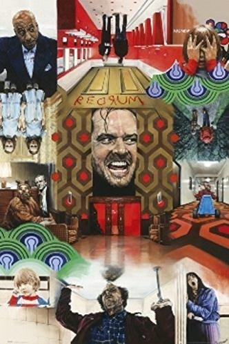 PAUL STONE - The Shining Poster 24 x 36in