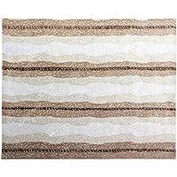 BD Designs 5 x 8 Antelope Animal Traditional Persian 100% Wool Rugs & Carpet