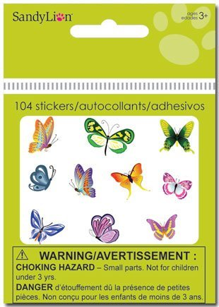 Butterfly Stickers - 2