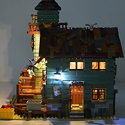LIGHTAILING Light Set for (Old Fishing Store) Building Blocks Model - Led Light kit Compatible with Lego 21310(NOT Included The Model): Toys & Games