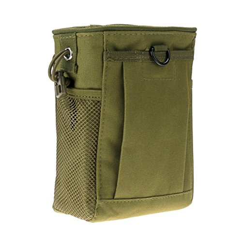wolfsalves Tactical Gear Bundles Molle Drawstring Folding Dump Pouch Molle Waist Pack Sport Bag