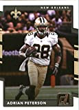 2017 Donruss #292 Adrian Peterson New Orleans Saints Football Card