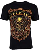 Affliction Mens T-Shirt Thunder American Customs