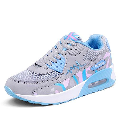 Walking Women's Travelling Sport Fashion 916 Gray Sneakers Shoes Air Moon fereshte Cushion O07UBx