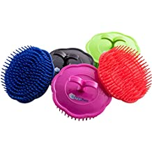 OceanPure Scalp Shampoo Massage Brushes 3-Pack (Assorted Colors) (Hard)