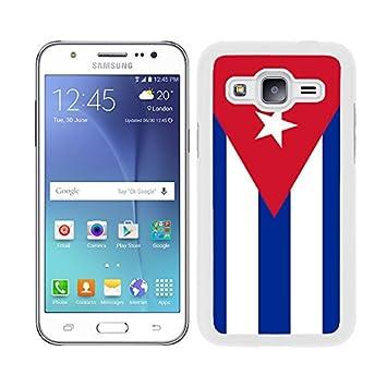 FUNDA CARCASA PARA SAMSUNG GALAXY J5 DISEÑO BANDERA CUBA ...