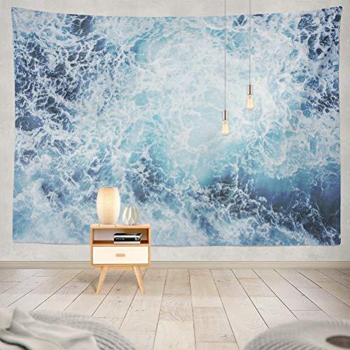 KJONG Ocean Wave Blue Deep Earth Energy Material