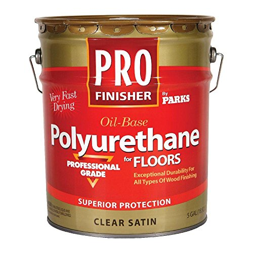 (Rust-Oleum Parks 5-gal. Clear Satin Oil-Based Interior Polyurethane for Floors)
