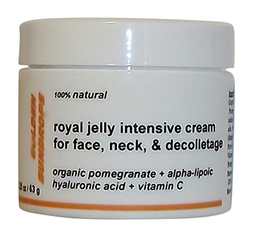 GOLDEN SUNDROPS, ROYAL JELLY, INTENSIVE, CREAM, FOR, FACE, NECK, AND, DECOLLETAGE, (2.25 OZ), RICH, ANTI, WRINKLE, TREATMENT, INTENSIVE, ANTIAGING, FACIAL, LIFT, SKIN, CARE, FORMULA, IN, CONCENTRATED, AND, POWERFUL, BLENDS, OF, ()