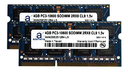 Adamanta 8GB (2x4GB) Apple Memory Upgrade for Mid 2011 Ma...