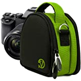 VanGoddy Compact Mini Laurel Lime Green Camera Pouch Cover Bag fits Canon PowerShot G7 X, N100, N Facebook, SX600, SX260, S120, S110 HS
