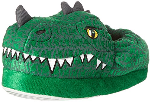 Stride Rite Max Dragon-Lighted Moccasin (Toddler/Little Kid), Max Dragon - Green, 11-12 M US Little Kid