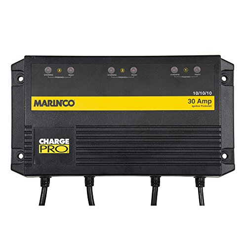 Marinco On Board Battery Charger 30A 3 Bank by Marinco