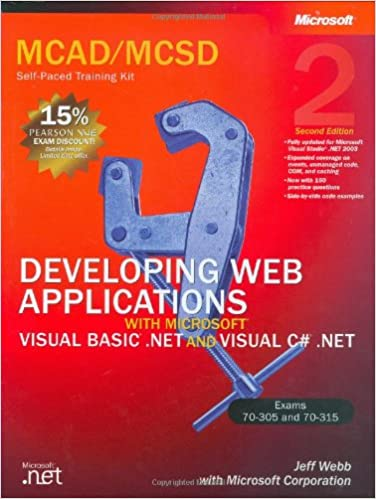 Developing Web Applications with Microsoft Visual Basic  NET