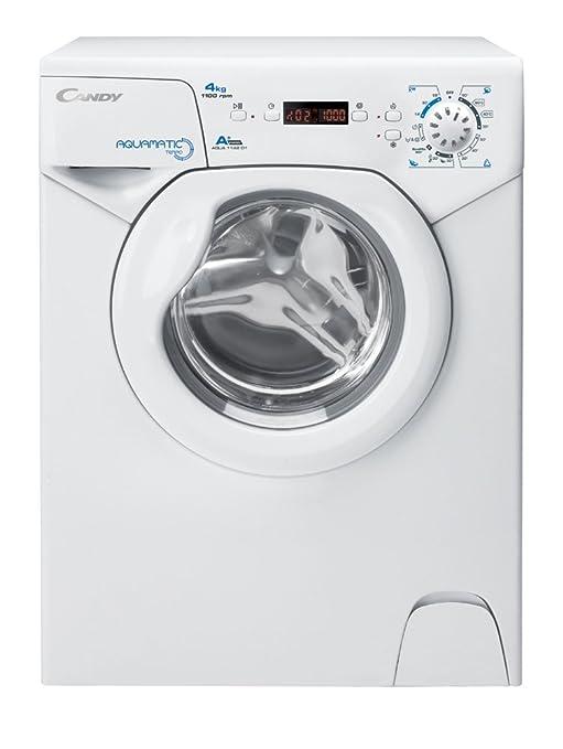 Candy Aqua 1142 D1 Waschmaschine FL / A+ / 141 kWh/Jahr / 1100 UpM / 4 kg / 6400 L/Jahr / nur 44 cm tief /nur 69,5 cm hoch /