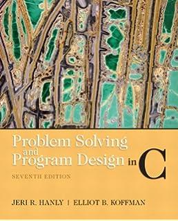 Amazon com: Problem Solving and Program Design in C (3rd
