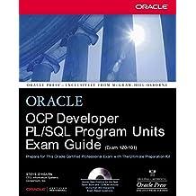 OCP Developer PL/SQL Program Units Exam Guide