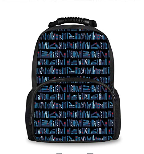 YongColer Classic Casual Books Bookstore Daypack with Padded Straps, Travel and Sport Backpack Rucksack Large Capacity College School Bookbag Multipurpose Anti-Theft for Boys Girls]()