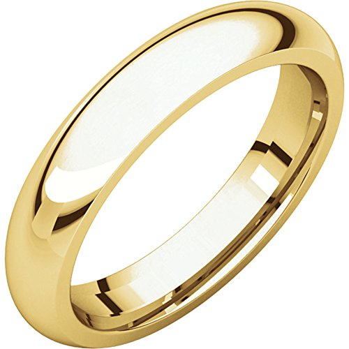 10kt 4mm Band - Benchmark 10kt Yellow Gold 4MM Wedding Band (14)