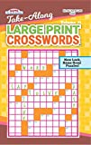 Take Along Large Print Crosswords Puzzle Book-Volume 71