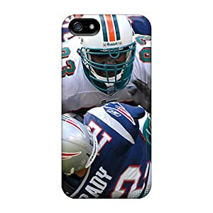 Great Hard Phone Case For Iphone 5/5s (Rju4871cRDT) Unique Design High-definition Miami Dolphins Series