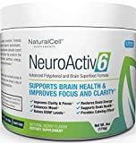 NeuroActiv6 Brain Supplement Reds Superfood Powder: Anti-Aging Antioxidants + Polyphenols + Nootropics: Improve BDNF, Mood, Focus, Cognition • Reduce Stress, Anxiety, Fatigue & Brain Fog