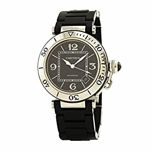 Cartier Pasha Seatimer swiss-automatic mens Watch W31077U2 (Certified Pre-owned)