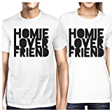 Best 365 Printing Friend Matching Gifts - 365 Printing Homie Lover Friend White Matching Couple Review