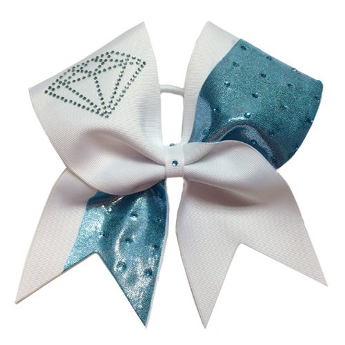 Chosen Bows March Birthstone Cheer Bow