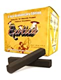 Exotica Natural Hookah Charcoal 75pcs Long Lasting Coals *4 Pack