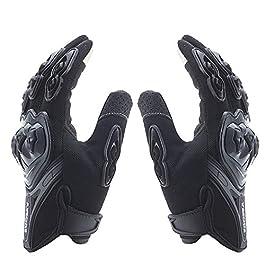 Sprugal™ Racing Motorcycle Gloves (XL, BLACK)